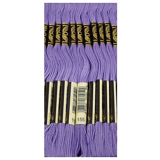 DMC Six Strand Embroidery Cotton, Med. Dk. Blue Violet, Between 340 & 3746