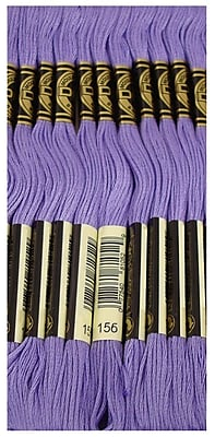 DMC Six Strand Embroidery Cotton, Med. Lt. Blue Violet, Between 340 & 341