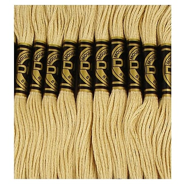 DMC Six Strand Embroidery Cotton, Light Yellow Beige