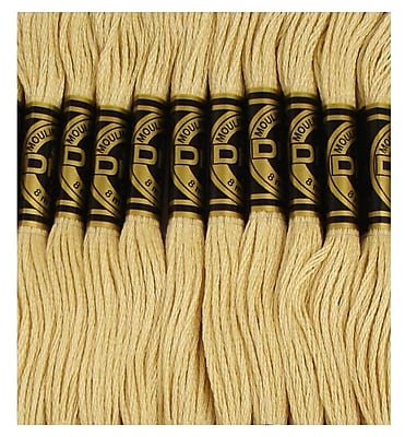 DMC Six Strand Embroidery Cotton, Light Yellow Beige