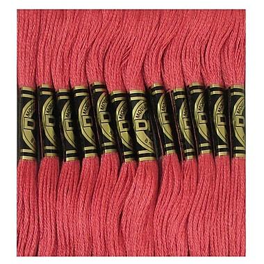 DMC Six Strand Embroidery Cotton, Dark Salmon