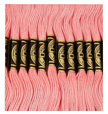 DMC Six Strand Embroidery Cotton, Cranberry