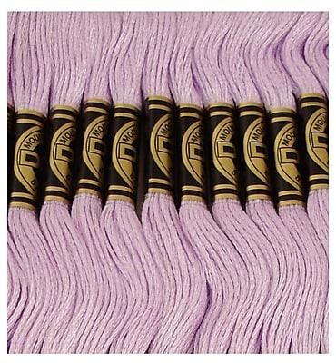 DMC Six Strand Embroidery Cotton, Light Lavender