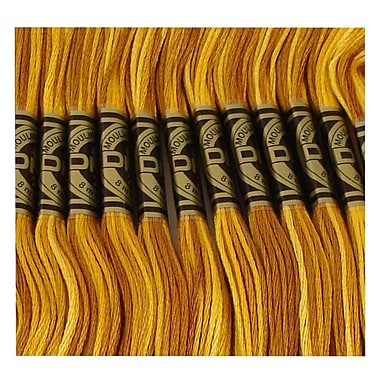 DMC Six Strand Embroidery Cotton, Variegated Mustard