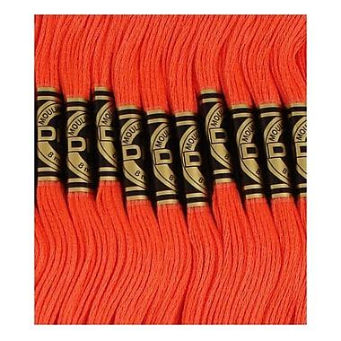 DMC Six Strand Embroidery Cotton, Light Christmas Red
