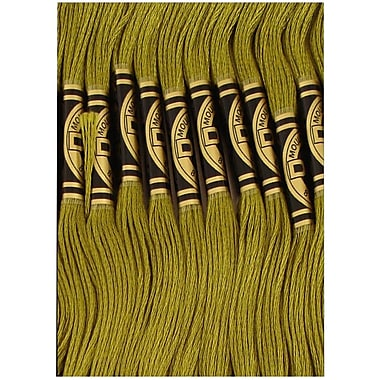 DMC Six Strand Embroidery Cotton, Olive Green