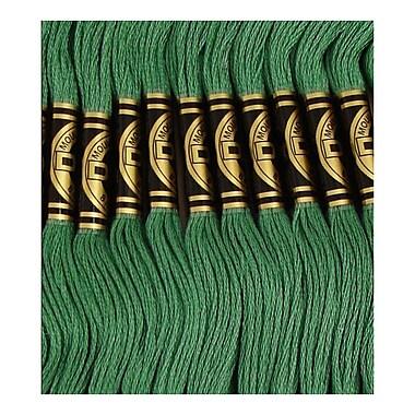 DMC Six Strand Embroidery Cotton, Dark Celadon Green