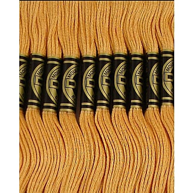 DMC Six Strand Embroidery Cotton, Pale Golden Brown