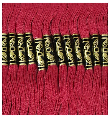 DMC Six Strand Embroidery Cotton, Dark Raspberry