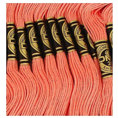 DMC Six Strand Embroidery Cotton, Salmon