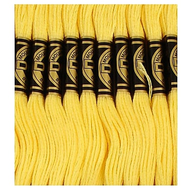 DMC Six Strand Embroidery Cotton, Very Light Topaz