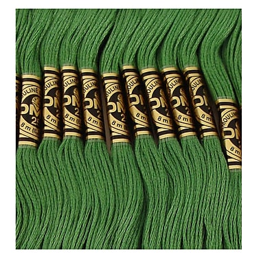 DMC Six Strand Embroidery Cotton, Dark Pistachio Green