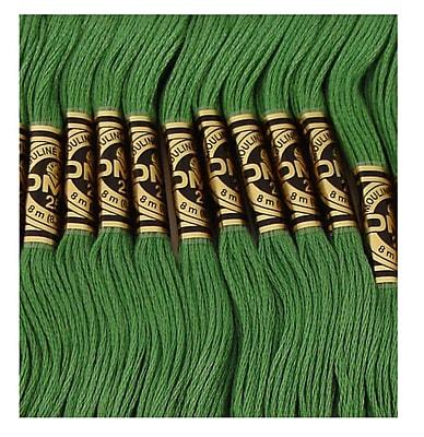 DMC Six Strand Embroidery Cotton, Dark Pistachio Green