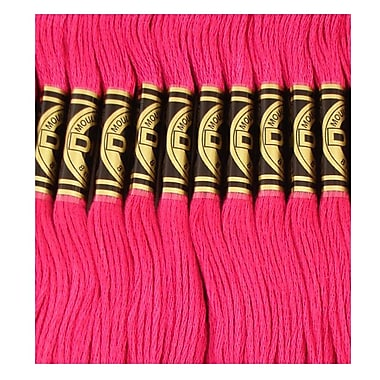 DMC Six Strand Embroidery Cotton, Plum
