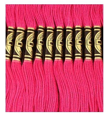 DMC Six Strand Embroidery Cotton, Plum