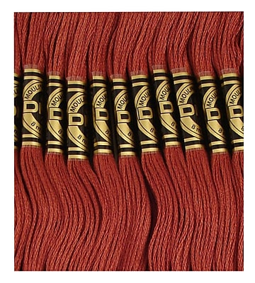 DMC Six Strand Embroidery Cotton, Medium Rosewood