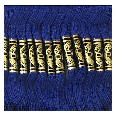 DMC Six Strand Embroidery Cotton, Very Dark Cornflower Blue