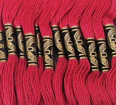 DMC Six Strand Embroidery Cotton, Dark Rose