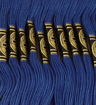 DMC Six Strand Embroidery Cotton, Medium Navy Blue