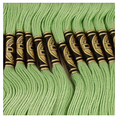 DMC Six Strand Embroidery Cotton, Light Forest Green-Lighter than 989
