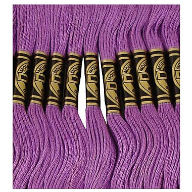 DMC Six Strand Embroidery Cotton, Very Dark Lavender