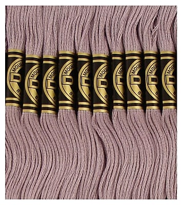 DMC Six Strand Embroidery Cotton, Light Antique Violet