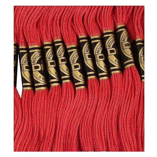DMC Six Strand Embroidery Cotton, Ultra Dark Dusty Rose