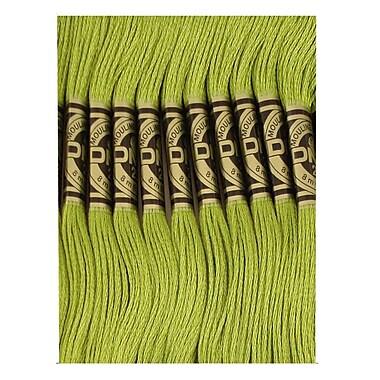 DMC Six Strand Embroidery Cotton, Moss Green