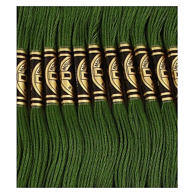 DMC Six Strand Embroidery Cotton, Dark Hunter Green