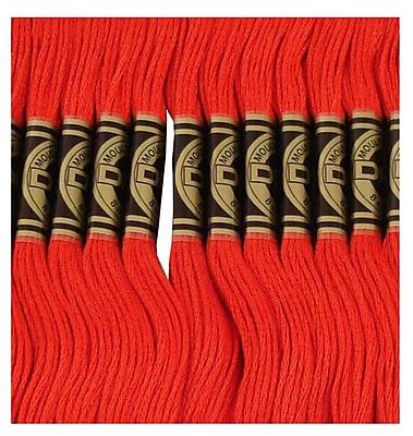 DMC Six Strand Embroidery Cotton, Very Dark Salmon