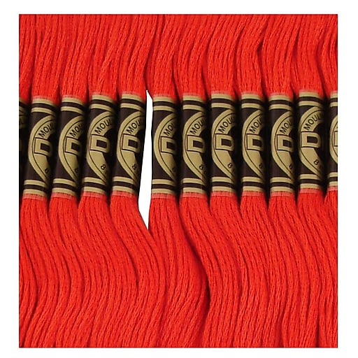 DMC Six Strand Embroidery Cotton, Very Dark Salmon