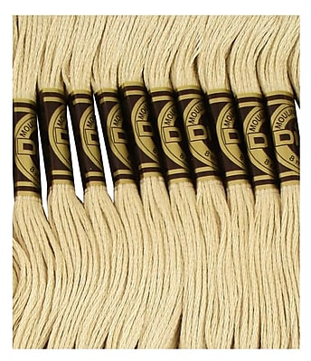 DMC Six Strand Embroidery Cotton, Very Light Drab Brown