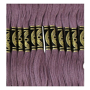 DMC Six Strand Embroidery Cotton, Medium Antique Violet