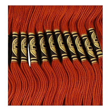 DMC Six Strand Embroidery Cotton, Dark Mahogany