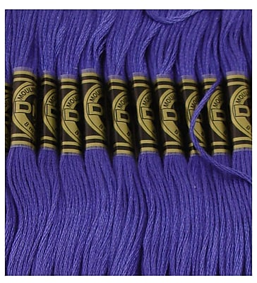 DMC Six Strand Embroidery Cotton, Med.Very Dk.Cornflower Blue-Btwn 791 & 792