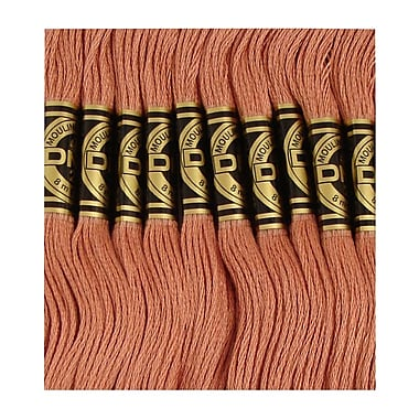 DMC Six Strand Embroidery Cotton, Light Rosewood
