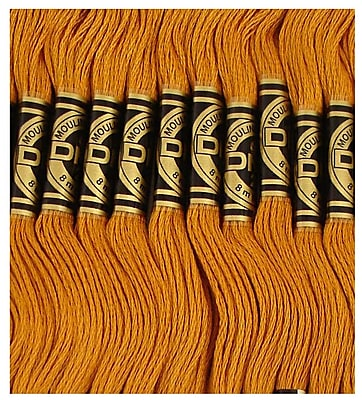 DMC Six Strand Embroidery Cotton, Very Dark Topaz