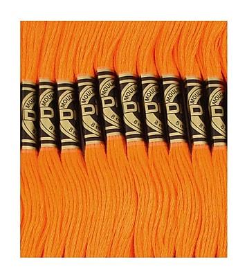 DMC Six Strand Embroidery Cotton, Bright Orange