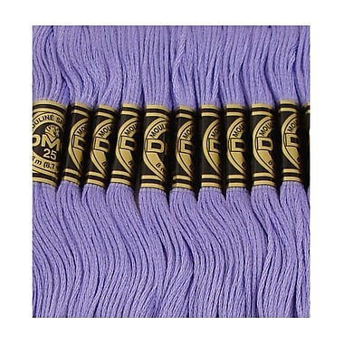 DMC Six Strand Embroidery Cotton, Medium Blue Violet