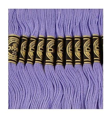 DMC Six Strand Embroidery Cotton, Medium Blue Violet
