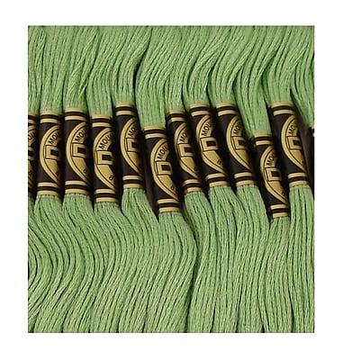DMC Six Strand Embroidery Cotton, Light Pistachio Green