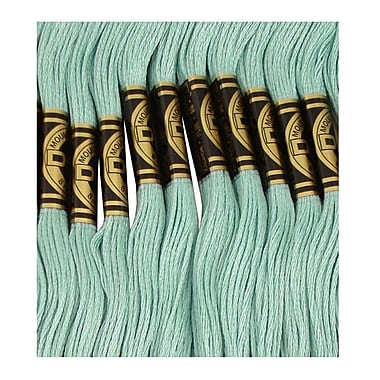 DMC Six Strand Embroidery Cotton, Light Turquoise