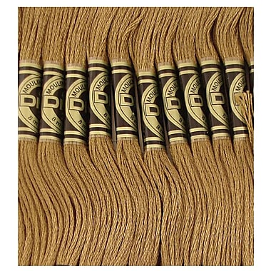 DMC Six Strand Embroidery Cotton, Dark Drab Brown