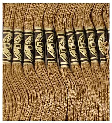DMC Six Strand Embroidery Cotton, Dark Drab Brown