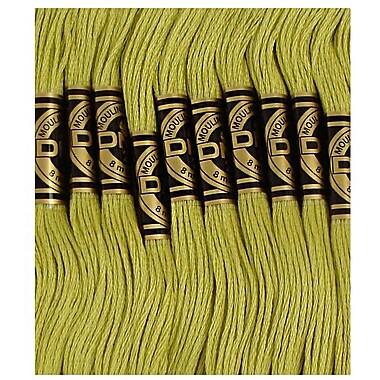 DMC Six Strand Embroidery Cotton, Light Moss Green
