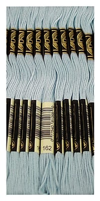 DMC Six Strand Embroidery Cotton, Ultra Very Lt Blue-Lighter than 827