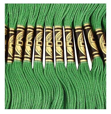 DMC Six Strand Embroidery Cotton, Jade Green-Darker than 562