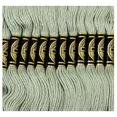 DMC Six Strand Embroidery Cotton, Very Light Fern Green