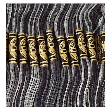 DMC Six Strand Embroidery Cotton, Variegated Steel Grey