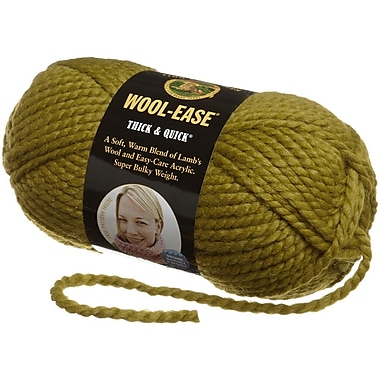 Wool-Ease Thick & Quick Yarn, Lemongrass